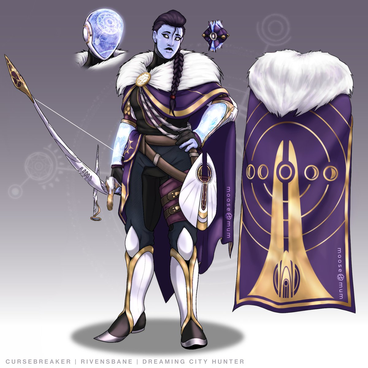 Rivensbane/Cursebreaker Hunter Armor Concept