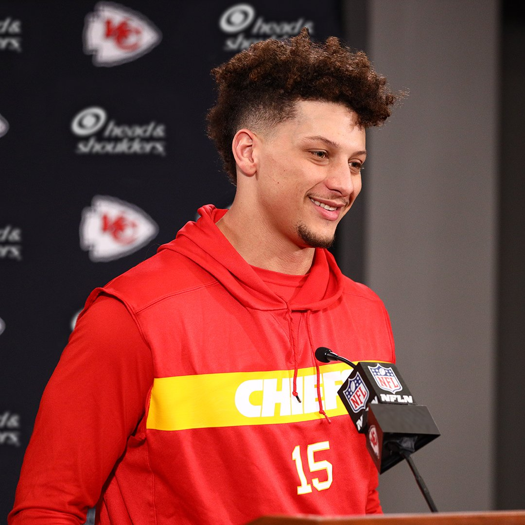 That fresh out of the shower (headed BACK to the #SuperBowl) feeling… Congrats on a HUGE @NFL  Playoff win @PatrickMahomes. #TakeItUpTo100 #RunItBack