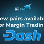 Image for the Tweet beginning: New @Dashpay trading pairs available