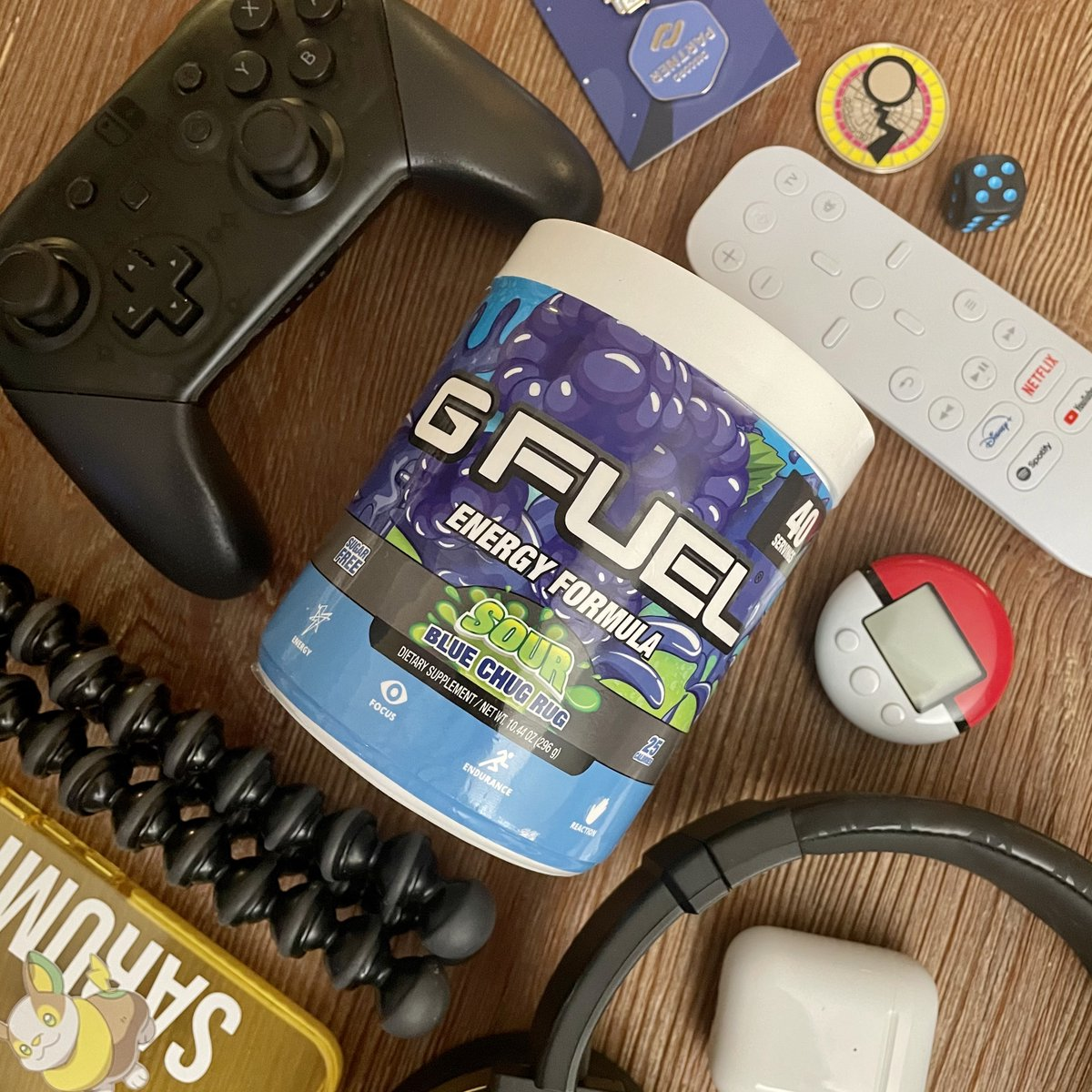 My @GFuelEnergy code is 30% off for the rest of the day! If you need to stock up or try for the first time now is your chance!   🛍️ Shop:   Use code 'pkmncast' at checkout! #gfuel #gfuelenergy #ad