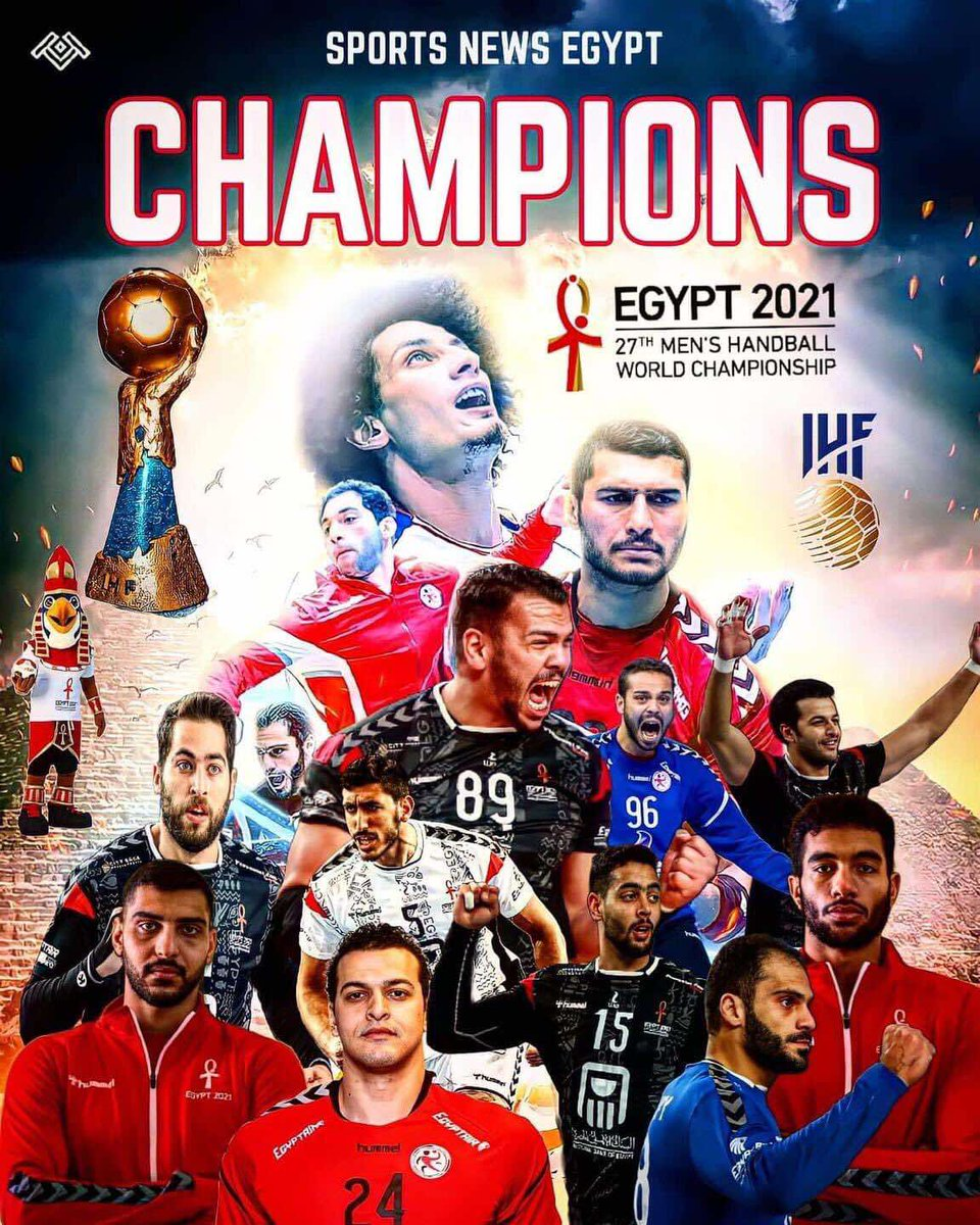 #Pharaohs #worldcup #Egyptians #Egypt2021 #Egypt is among top best 8 countries worldwide in the Handball sport.  Via Egyptian Embassy in Washington D.C.  @EgyptEmbassyUSA