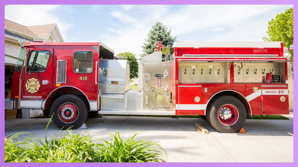 Toledo Man Transforms Fire Truck Into Mobile Beer Bar  WATCH:   #KellyClarksonShow