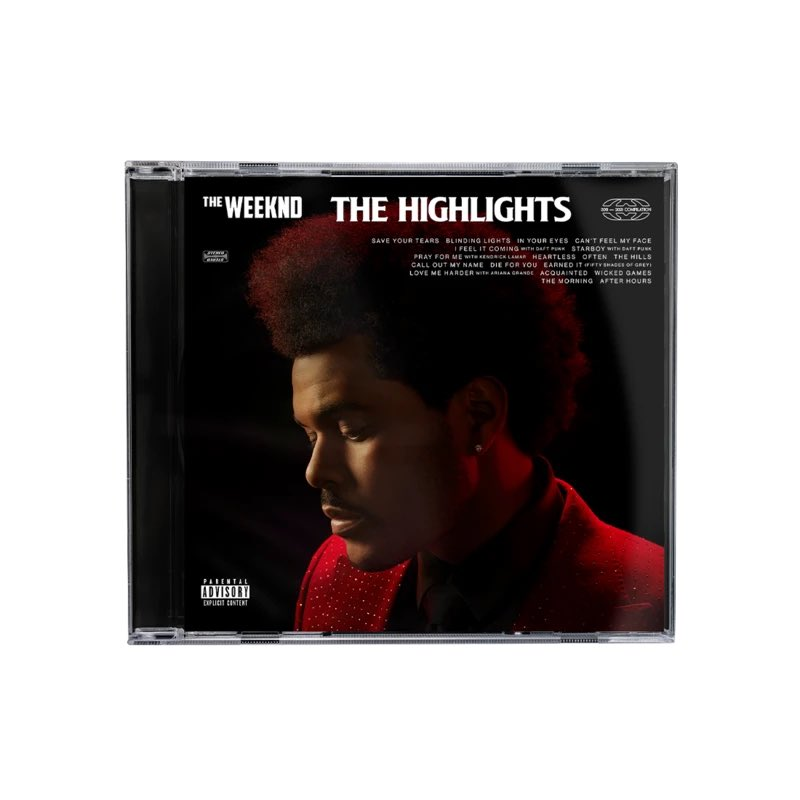 THE WEEKND HIGHLIGHTS EXPLICIT CD