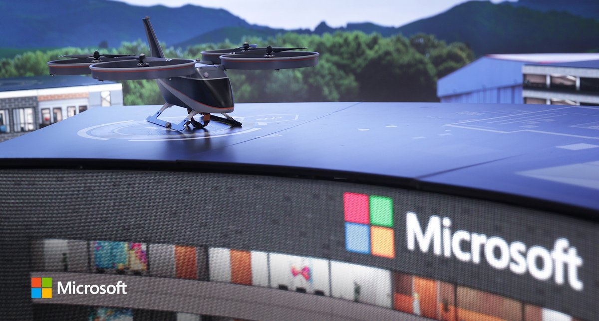 The team at @BellFlight chose @Microsoft #AutonomousSystems to help them innovate in autonomous flight to transform their business. Learn more about Bell's pursuit of their first autonomous precision landing. #MicrosoftAI #Innovation