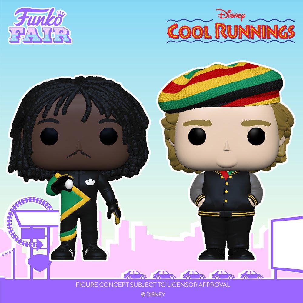 "Funko Fair 2021: Disney Cool Runnings!  Pre-order Irving ""Irv"" Blitzer  and Sanka Coffie  now! #FunkoFair #Funko #CoolRunnings #Disney"