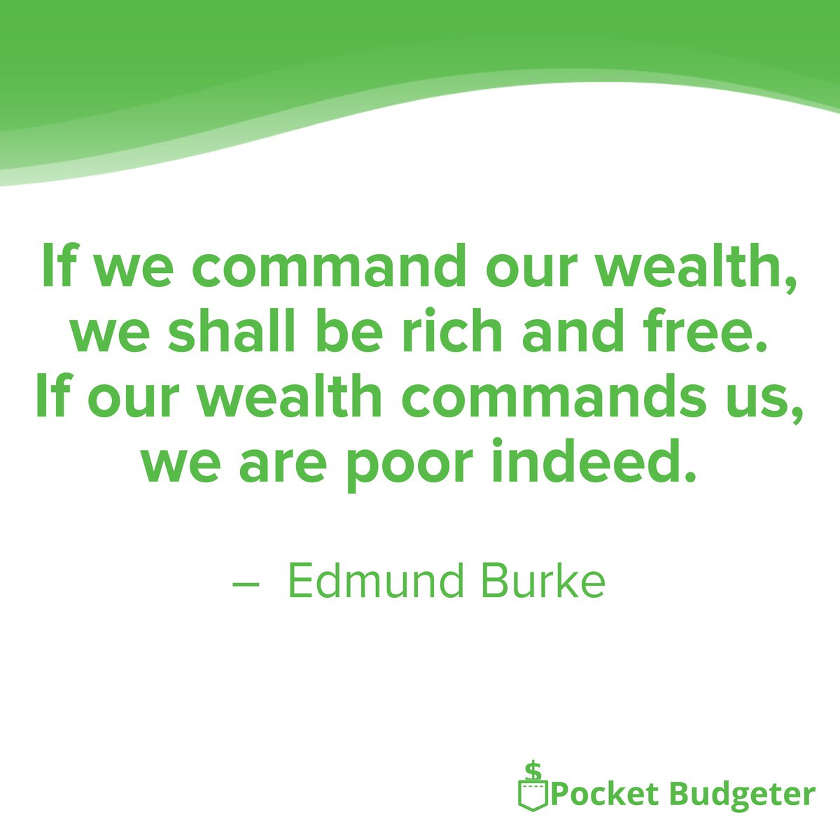 A wise quote from a wise man. Controlling your finances starts with starting a budget. Be in charge of what you spend your hard-earned money on.   #finance #fintech #budget #quote #quotes #motivation #life #money  #success #wealth #inspiration #lifestyle #successful