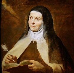 The feeling remains that God is on the journey, too. - Saint Teresa of Avila - Try my Blog:   :Blog  #quote #motivation #church #Catholic #God #Jesus