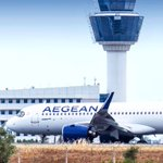 Image for the Tweet beginning: NEO era in LGAV..!💙✈️ - @aegeanairlines @ATH_airport
