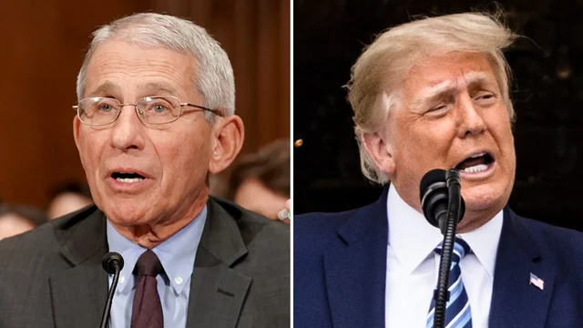 """Fauci: """"The president would call me up and say, 'Hey, why aren't you more positive?"""" https://t.co/e1efPhQQub https://t.co/crpP9qFhS8"""