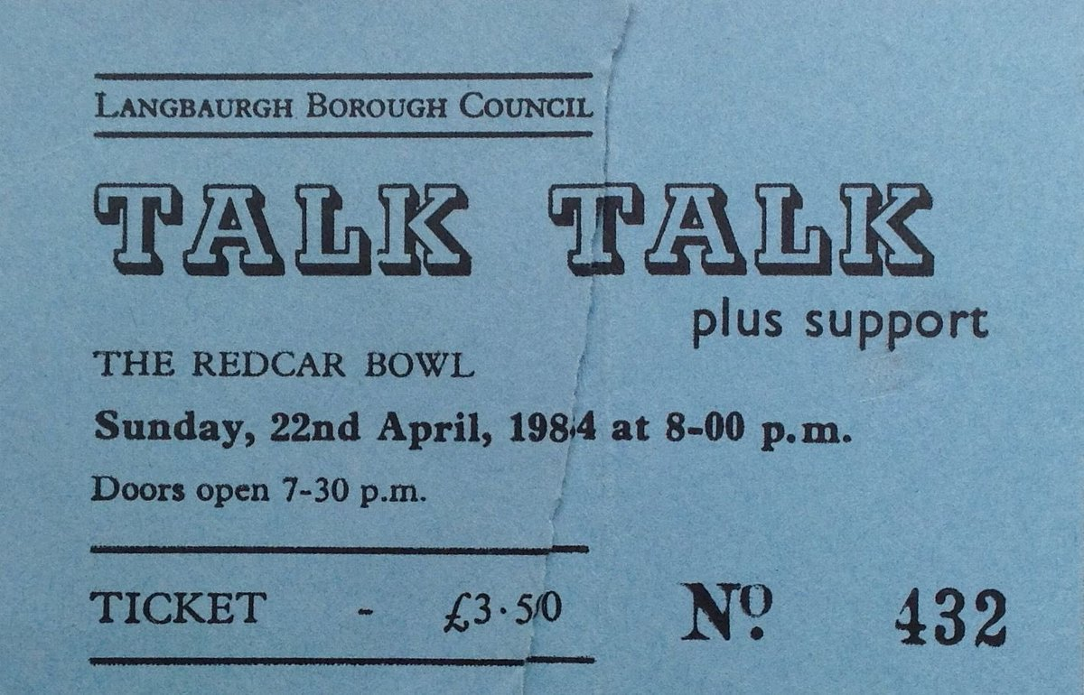 Did you get to see Talk Talk play live? Which was your favourite show if you saw them more than once?