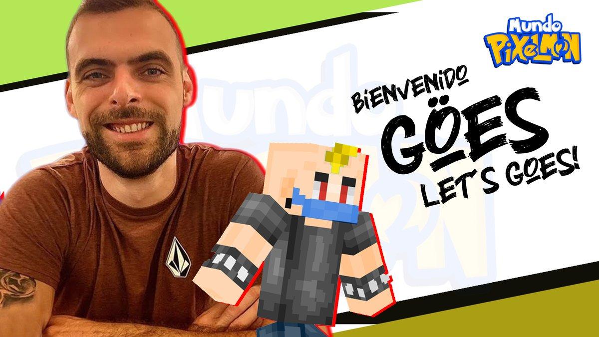 ¡BIENVENIDO @Goes__x!  ¡Uno de los mejores roleadores de España dentro de #MundoPixelmon2!  Seguro que nos va a dar momentos memorables.