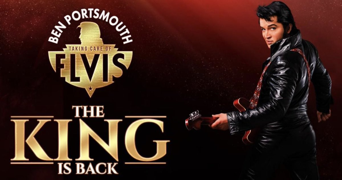 See you on 17 September '21 @CheltenhamTH 🤞🏻  #Elvis #ElvisPresley #ETA #TCB #BenPortsmouth #Cheltenham