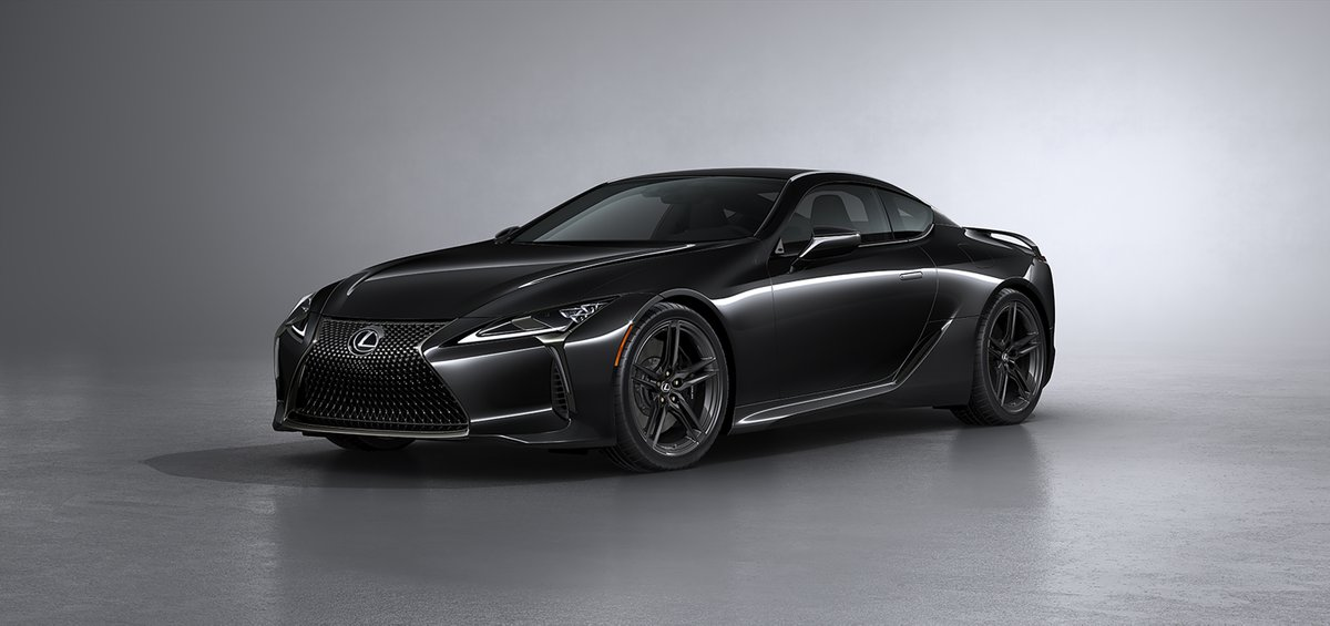 The 2021 Lexus LC 500 Inspiration Series has numerous upgrades, including a carbon-fibre rear spoiler, carbon-fibre roof and 21-inch black forged wheels. There will only be 10 units sold in Canada. #MondayMotivation