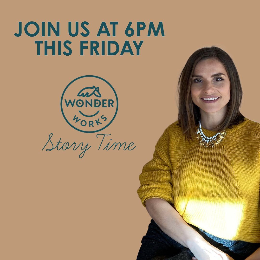 #repost @wonderworksnursery IG Join Actor and The WonderWorks Director Charlotte Riley this Friday at 6pm as she brings us our latest episode of 'The WonderWorks Story Time 📖🕕' #thewonderworks #warnerbros #keepingfamiliesinfilm #womeninfilm #earlyyears #charlotteriley #tomhardy