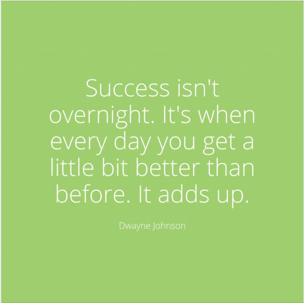 It adds up! #MondayMotivation