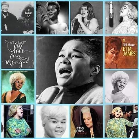 Happy heavenly birthday to legendary blues singer etta James