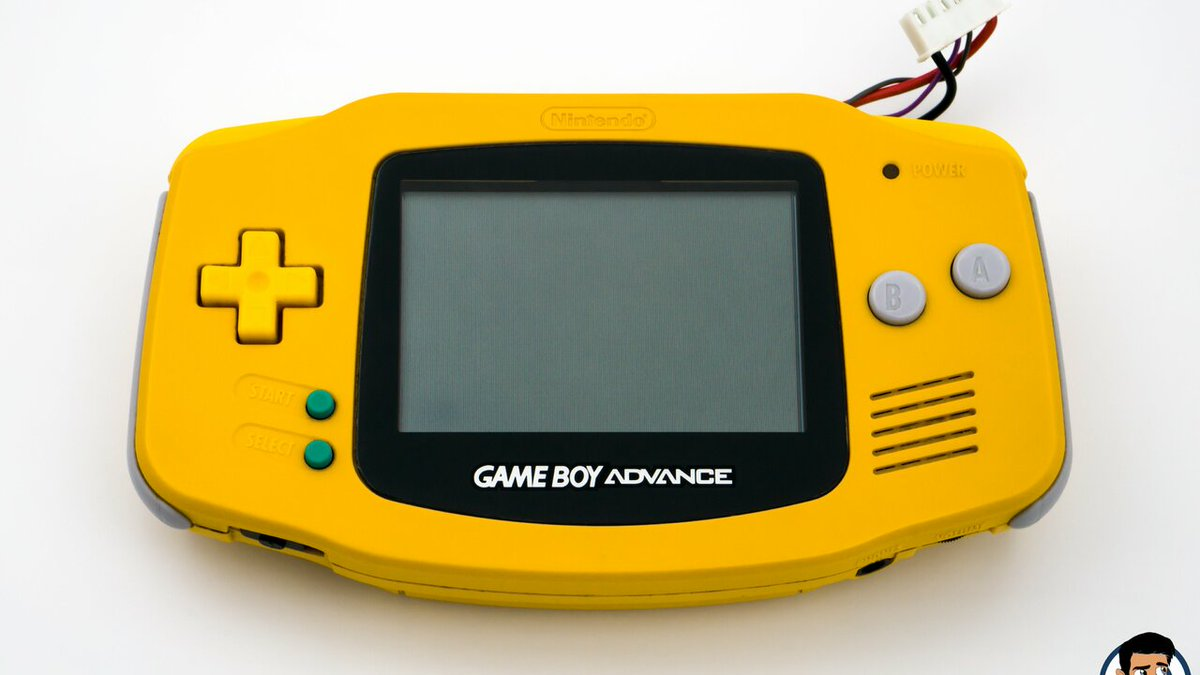 "It's A Real Shame This ""Lemon Yellow"" Game Boy Advance Was Never Released  #Repost #Retro #Hardware #GameBoyAdvance"