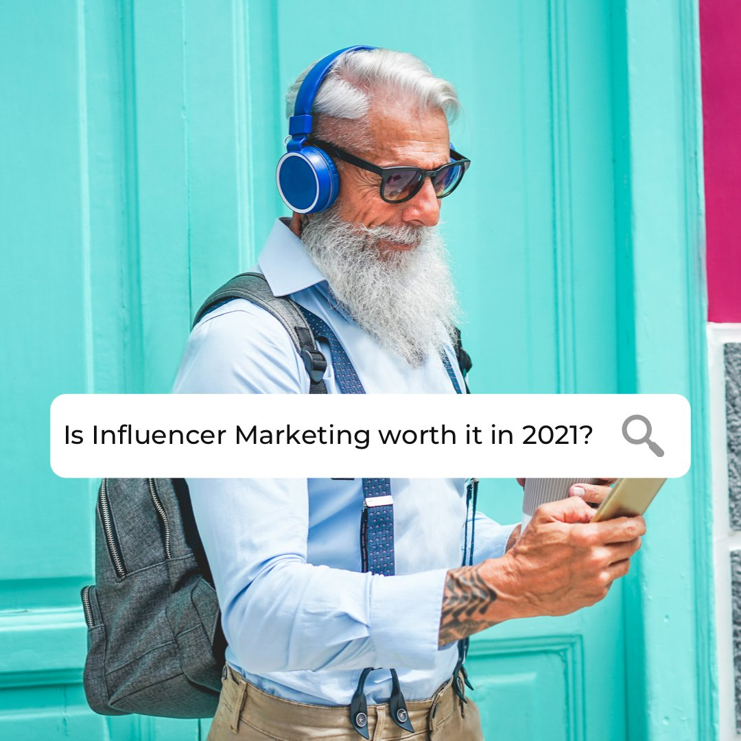 -Influencer Marketing is an $8b industry expected to cross $20b by 2022 -63% of marketers plan to increase their influencer marketing budgets in 2021 -91% of brands who tried #InfluencerMarketing reported success   #MondayMotivation #MarketingMonday