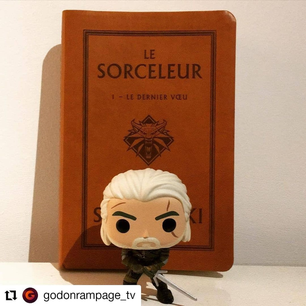 #Repost @godonrampage_tv • • • • • • Septième de ma collection !   Toss a coin to your witcher oh valley of plenty ! ❤️  Cœur avec les doigts ❤️  - - -  #twitchtv #twitch #streamer #streaming #streamlabs #funkopop #funko …