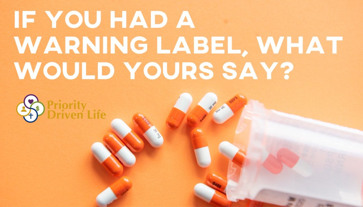 If you had a warning label, what would yours say? ‼️💊 It could be something funny or serious! Comment below 😄👇🏼  #Warning #ExtremelyFunny #ConversationsWorthHaving #DeepConversations #Meaningful #Thoughtful #ThoughtProvoking #GoodConversation