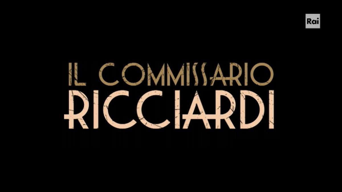 #IlCommissarioRicciardi