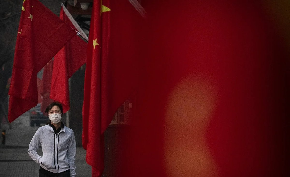 Chinese state media and government officials are encouraging COVID-19 conspiracy theories aimed at the U.S. https://t.co/h1AFy5BpUt https://t.co/4zx7HcEKwn
