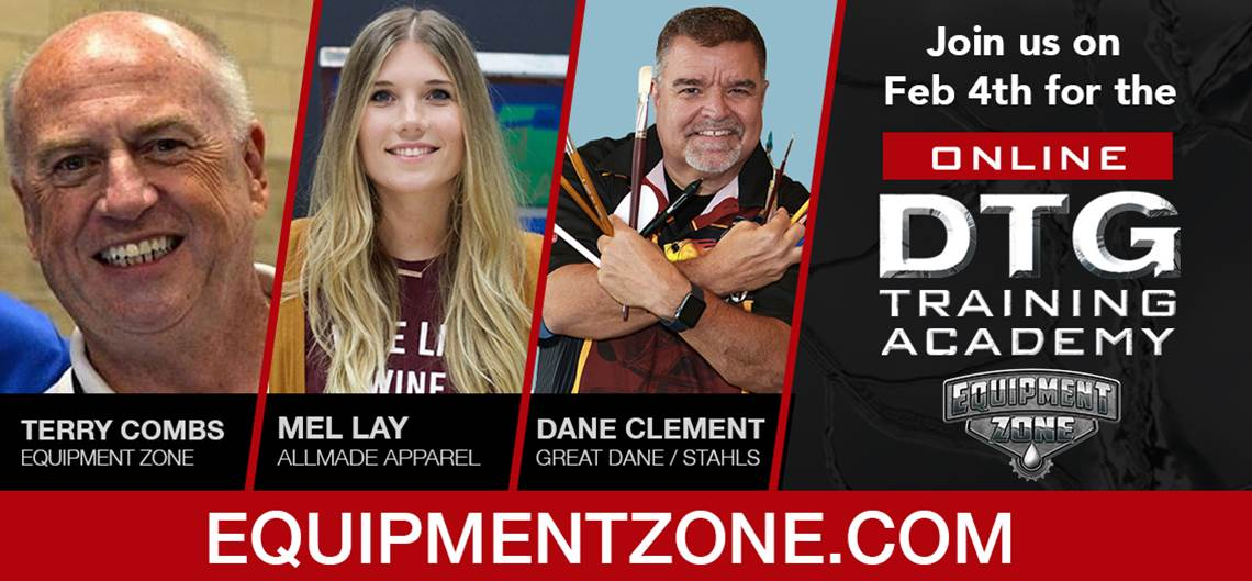 The The DTG Training Academy BUZZ is building!! We judge the buzz based on the fantastic presenters!⭐️🐝⭐️🐝⭐️🐝 14 industry leaders & biz owners sharing insights in under 15 mins.   @TerryCombsAZ, Mel: @allmadeapparel, Dane: @StahlsIDDirect #EZ4ME #DTG