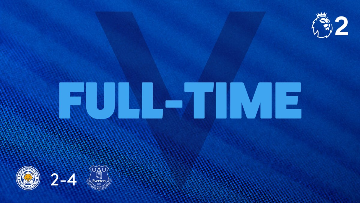 FT. #EFCU23 take the points at Leicester!   #PL2