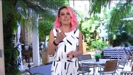 Ana Maria muda cor do cabelo de novo no @MaisVoce e diverte fãs na web 💕 -->