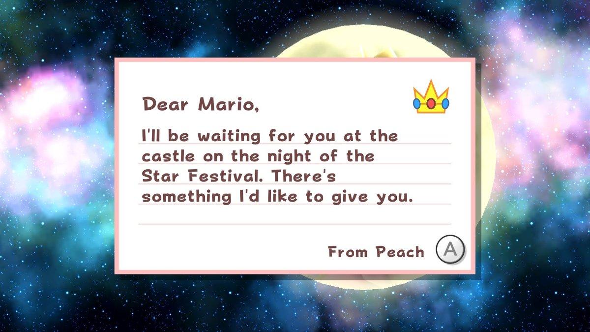 y empiezo el galaxy con mario teniendo algo de accion (if you know what i mean)  #SuperMario3DAllStars #NintendoSwitch
