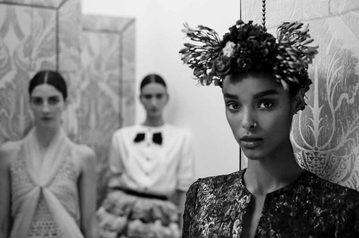 Family portraits — models photographed by Anton Corbijn in the Haute Couture Salons. Film of the Spring-Summer 2021 Haute Couture show, revealed on January 26th at 2pm Paris time. #CHANELHauteCouture See more at https://t.co/8Yu89Dwoma https://t.co/pknyhMlw4v