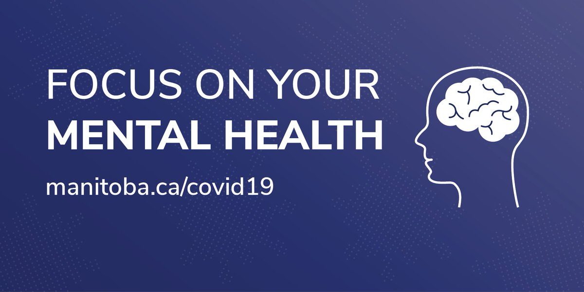 This week the issues of our mental health will be front and centre. The mental effects of the pandemic are difficult. Its understandable to be scared, or worried about your families and loved ones. You are not alone. Don't ignore your mental health. sharedhealthmb.ca/covid19/provid…