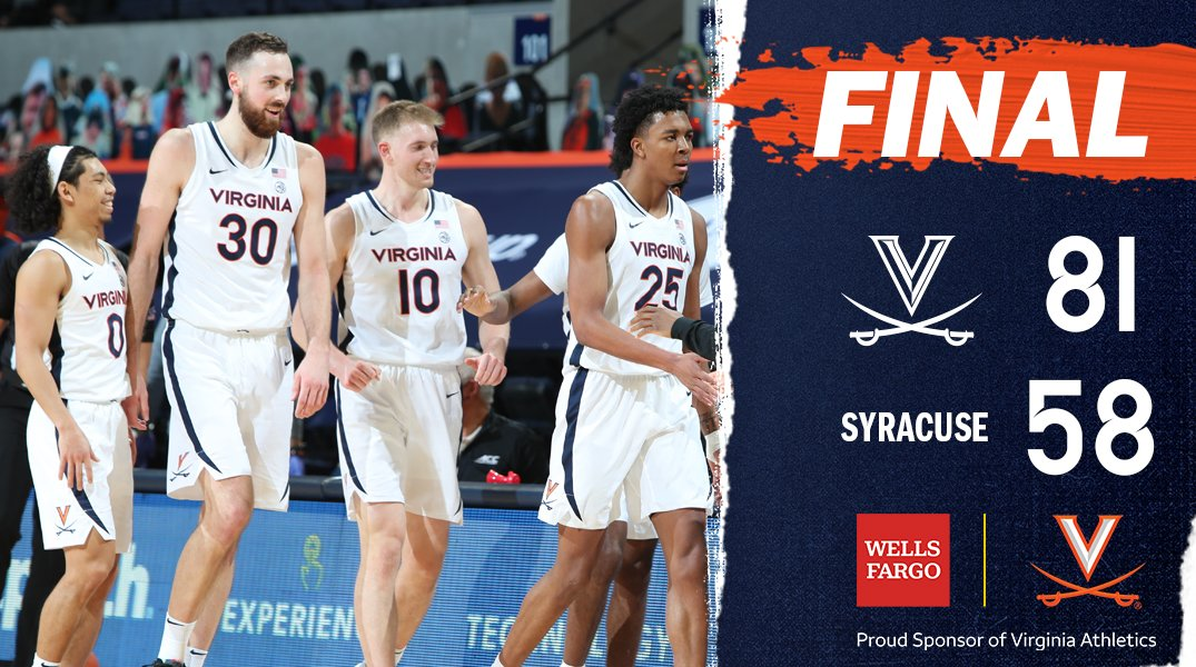 @UVAMensHoops's photo on Syracuse