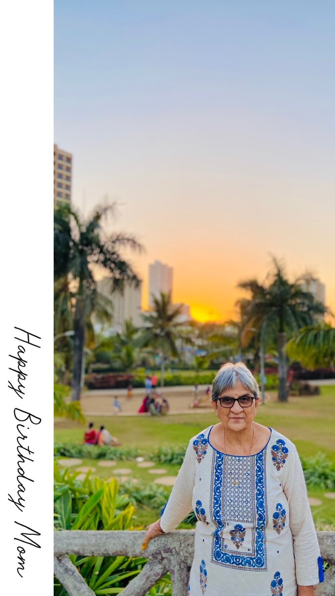 May the sun always form the halo over your head.   Happy Birthday Mom.  We All Love You!