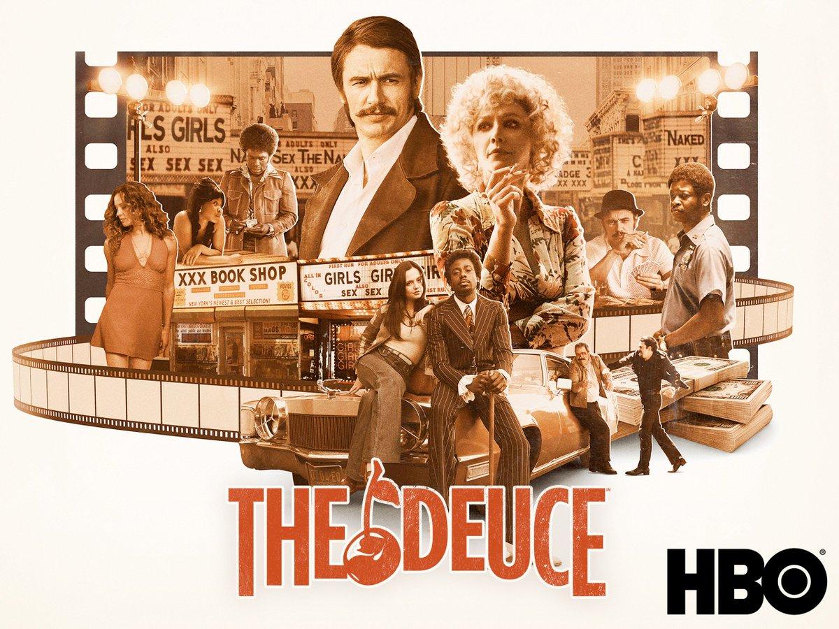 Serie: 'The Deuce' - 3 temporadas (2017-2018-2019) - HBO Go 📺  #TheDeuce presentó cómo la pornografía moldeó la cultura americana y cómo la industria es una fiel representación del funcionamiento de una sociedad 👌🏼 Esta serie fue un logro para la televisión de David Simon... https://t.co/rjhBRRya7k