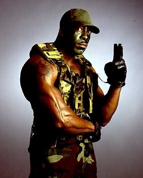 That wasn't Booker T.  That was G.I. Bro. #WWERAW