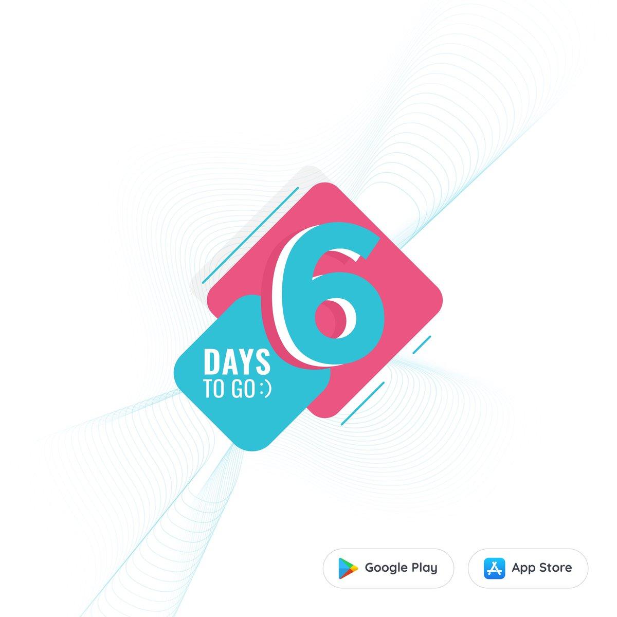 🤩6 days to go 📲  #doppelmate #birthday #twins #friends #friendship #love #socialnetwork #newapp #knowledge #experience