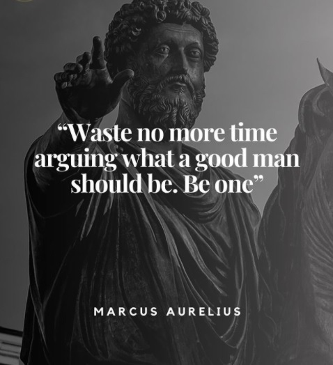 #beyondtheabysmal  Waste no more time arguing what a good man should be.  Be one.  #spiritual #vibes #lessons #learned #truth #philosophy #jesus #god #religion #world #view #advice #quote #quoteoftheday #mantra #music #feelings #freedom #love #power #time #timeless #space #zen