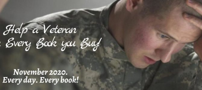 Book Sales to Benefit Mighty Oaks Military Charity - Tracey Cramer-Kelly's books sold in Novemeber go to help veterans. #military #veterans  via @DarylDevore