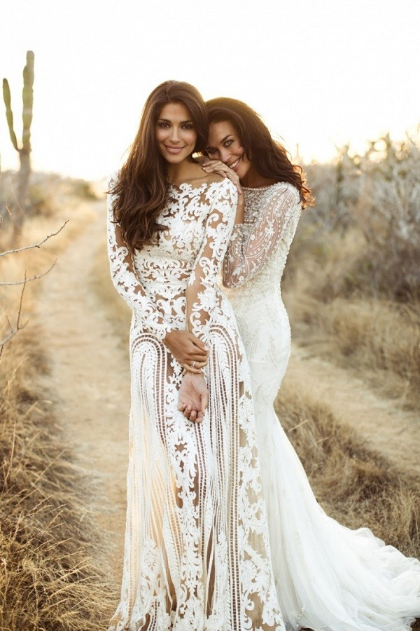 Missed This? 10 Stunning High-Neckline #Wedding Gowns | The Modest Wedding Dress Trend  #dubai #bcme #style