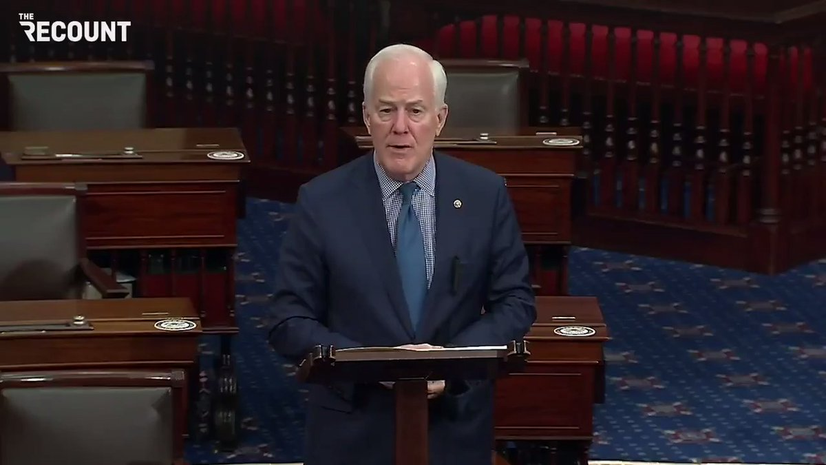 """Sen. John Cornyn (R-TX): """"I truly believe that ... if the legislative filibuster is eliminated, that we will all rue the day."""""""