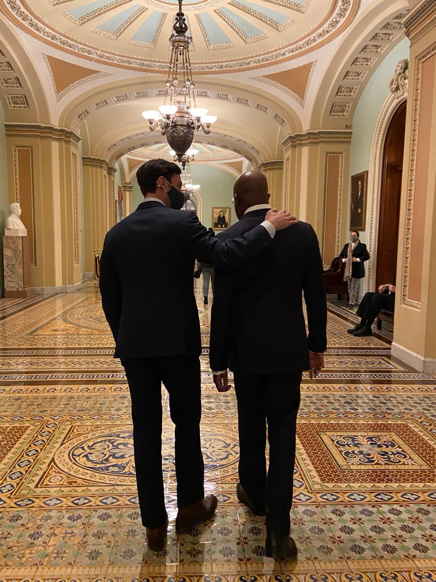 It is an honor and a privilege to serve alongside Senator Ossoff. Together, we are committed to serving all Georgians.