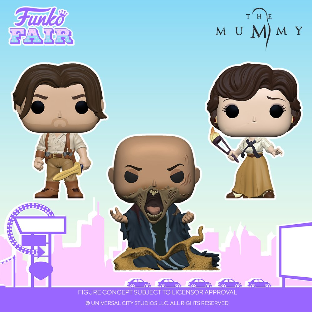 Funko Fair 2021: The Mummy!   #FunkoFair #Funko #FunkoPop #TheMummy