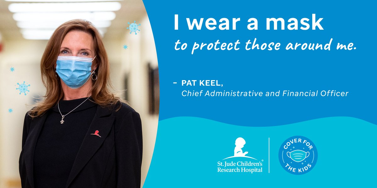 """""""I wear a mask to protect those around me."""" – Pat Keel, Chief Administrative and Financial Officer. Discover how you can participate: https://t.co/t2L2iP20Ps @pakeel #WearAMask https://t.co/pOvS33LIdv"""