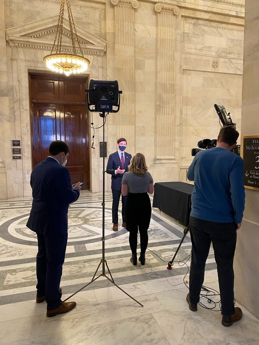 Just spoke with @KellieMeyerNews about my office's efforts to ensure COVID relief legislation meets Georgia families' urgent needs.  Expecting to head shortly to the Senate floor, where I will vote to confirm @JanetYellen as Treasury Secretary.