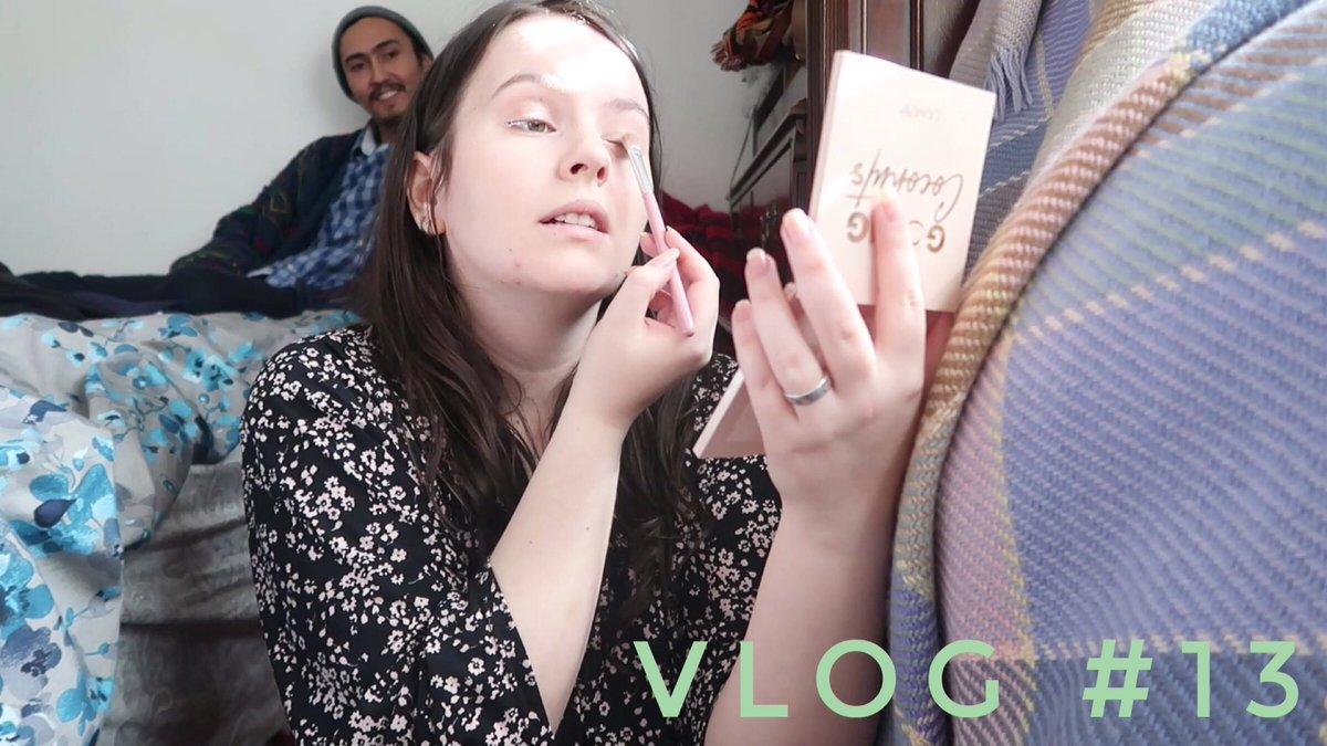 VLOG #13| RENEWAL OF MY GREEN CARD INTERVIEW GRWM & UNREADY !  via @YouTube #makeup #visajourney