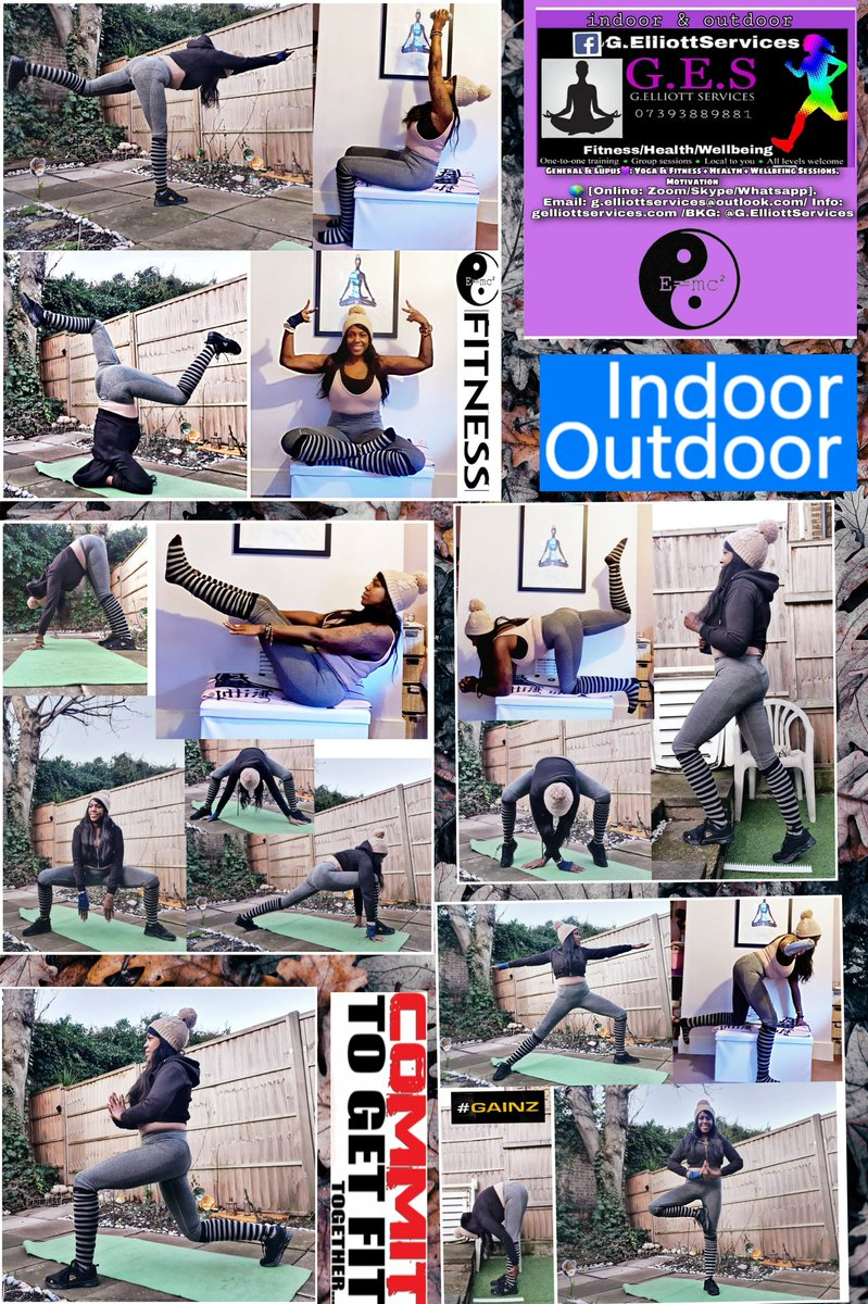 #mondaymotivation #lockdown #winter ❄ #active 🔥 @Facebook G.ElliottServices Lupusfit™️ #freelance #home #inandout #mind #body General & #Lupus #yoga style #exercise #health #fitness #tone #strength #stretch #wellbeing #motivation #goals / maintenance #staysafe #StayActive