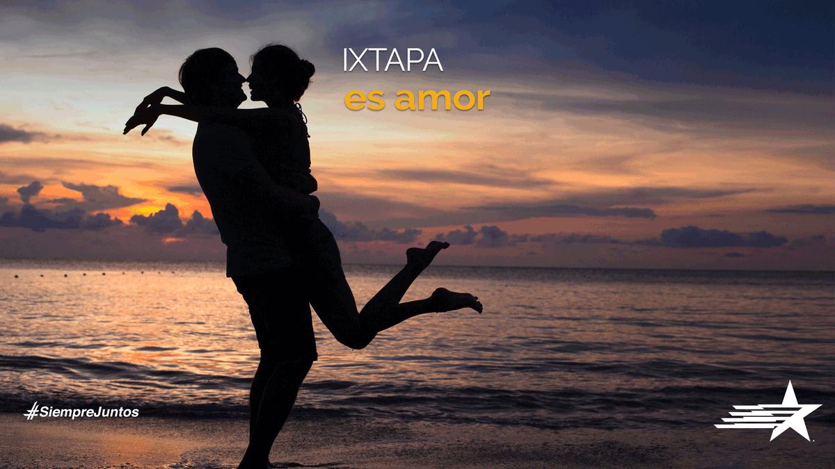 Etiqueta a tu pareja y prepárense para enamorarse en Ixtapa, en cuanto se pueda la playa estará esperándolos con los mejores atardeceres. #NosPonemosEnMovimiento #SiempreJuntos
