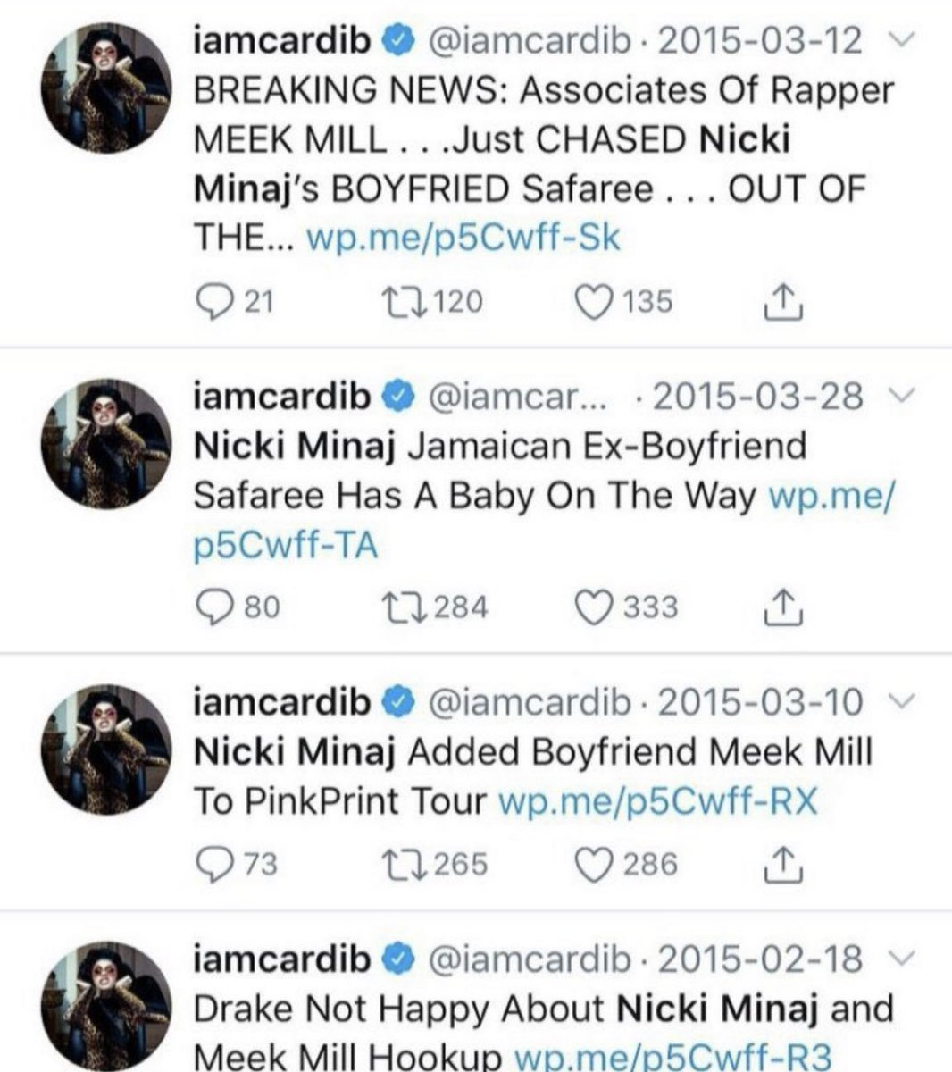 she was a whole nicki update account 😭