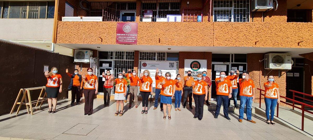 En el Tribunal Unitario Agrario Distrito 39, con sede en Mazatlán, Sinaloa, participamos en el día naranja, generando conciencia para la eliminación de la violencia contra mujeres y niñas.